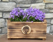 Decorative Cedar Flower Planter or Herb Garden