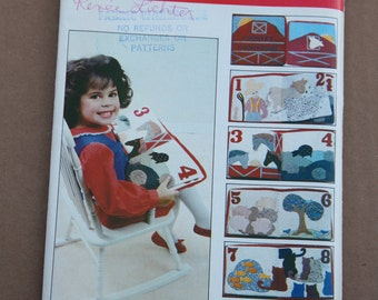 RESERVED Craft Vintage Butterick Learning Book Pattern 4837   1980s