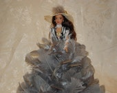 Barbie Doll/Feather Doll/Feathers