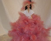 Barbie Doll/Feather Doll/Glamour Doll/Vintage Doll/Small Doll