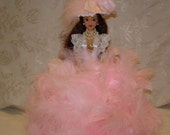 Barbie Doll, Feather Dolls, Glamour Dolls, Vintage Lace