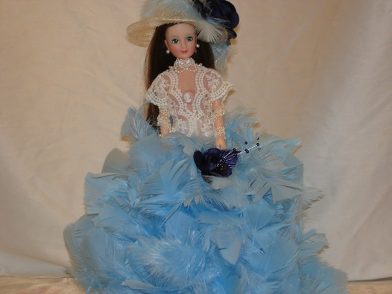 Feather Dolls/Glamour Dolls/Barbie Dolls/Dolls/Vintage Dolls/Art Dolls/Vintage Lace/Doll HatsFeathers