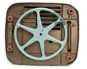 Projector, VIntage Projector, Vintage 8mm keystone projector, vintage midcentury projector,  home movie projector, steampunk projector