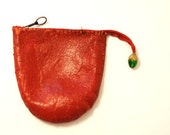 COIN Purse, Leather Change Purse, Wallet Coin Purse, Stocking Stuffer, Leather Wallet Purse, Vintage Coin Purse, Under 25,