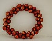 Vintage Santa Bell Wreath, Vintage Sleigh Bells, Vintage Christmas Decor, BELLS, Vintage Christmas Bells
