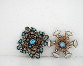 Vintage Rhinestone Pin, Vintage Jewelry, Vintage Costume Jewelry, Fashion Pins, Vintage Brooches, Vintage Lapel Pins