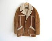 VIntage Trailmaster Men's Coat, Distressed Cowboy Coat, Winter Christmas Coat, Camel Autumn, Jacket, Men's Jacket, For HIM