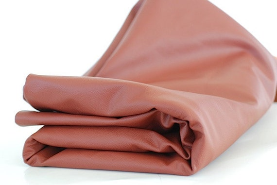 Cowhide Leather Supplies, Yards of Leather Fabric, Leather Cowhide, Supplies For Leather Accessories, Top Grain Leather, Brown Leather Chunk