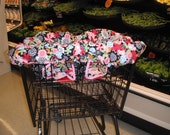 Adorable Shopping Cart Cover /Restaurant Highchair Cover