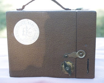Vintage 1930s Kodak Camera Brown Box Collectors Camera