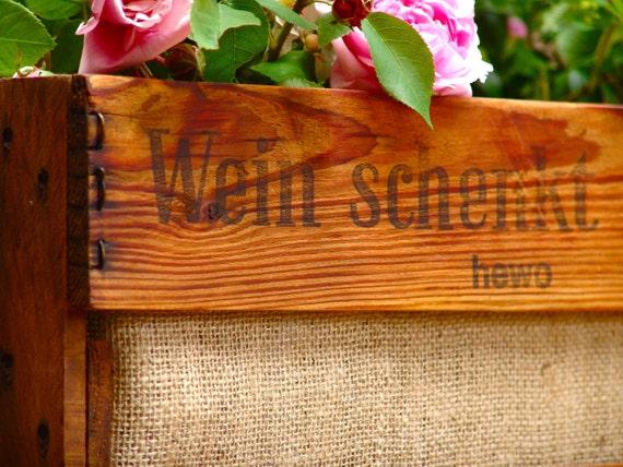 """Beetbox Planter """"Wein Schenkt Freude"""""""