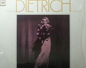 2 Marlene Dietrich Record Albums from 1965, Dietrich in London & Marlene Songs in German