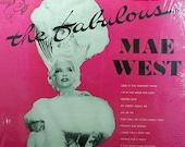 Vintage Vinyl Record, The Fabulous Mae West, Decca Records