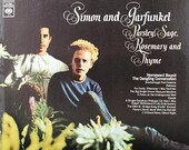 Simon and Garfunkel, Parsley Sage Rosemary and Thyme, Vintage Vinyl Record