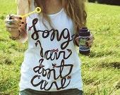 Long Hair Don't Care Tank