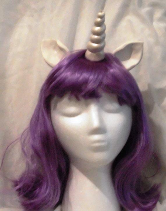 Twilgiht Sparkle Wig Unicorn Wig Purple Unicorn Horn Costume Wig My Little Pony Cosplay  Rarity Twilight Sparkle Headband mlp