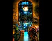 Trans-Allegheny Bookstore 9 (Larger), HDR  11x17 Fine Art Photo