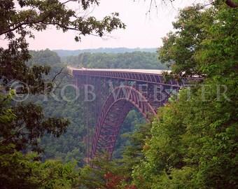 New River Gorge Bridge  8x10 Fine Art Photo
