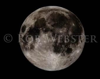 The Moon, num. 1, 8x10 Fine Art Photo