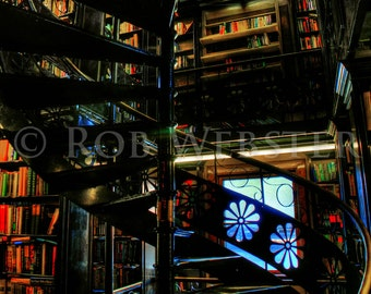 Trans-Allegheny Bookstore 11, HDR  8x10 Fine Art Photo