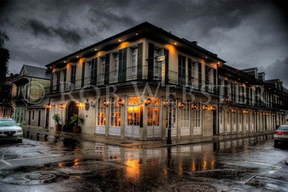 New Orleans Hotel, HDR 8x10 Fine Art Print