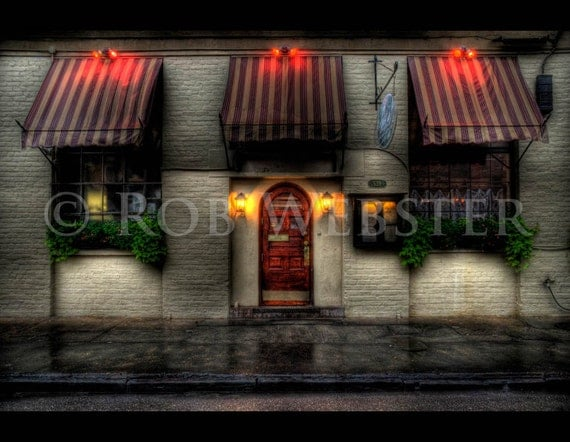 New Orleans Store Front, HDR Fine Art Print