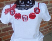 Adaorable St. Louis Baseball Cardinals Necklace T-shirt