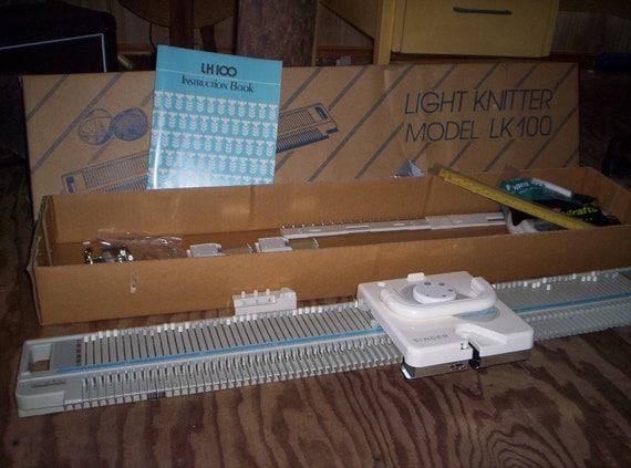 singer lk 150 knitting machine