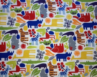 2D Zoo - 2D Zoo in New Primary - 6218IR - 1/2 Yard