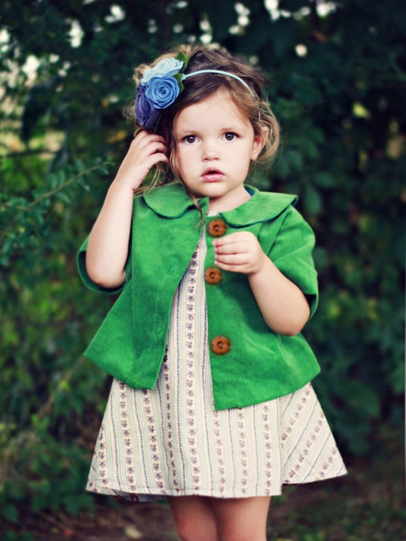 Molly Reversible Tea Jacket Sewing Pattern - Violette Field Threads - Size 12mo -10 Printed Pattern
