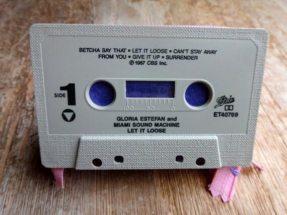 Gloria Estefan Cassette Tape Wallet