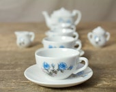 Vintage Toy China Tea Set
