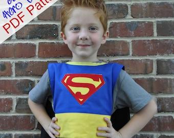 Super Hero Cape PDF Pattern