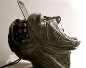 iPod / iPhone Docking Sculpture - Screaming Head Figure