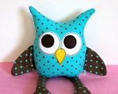 Owl Pillow Stuffed