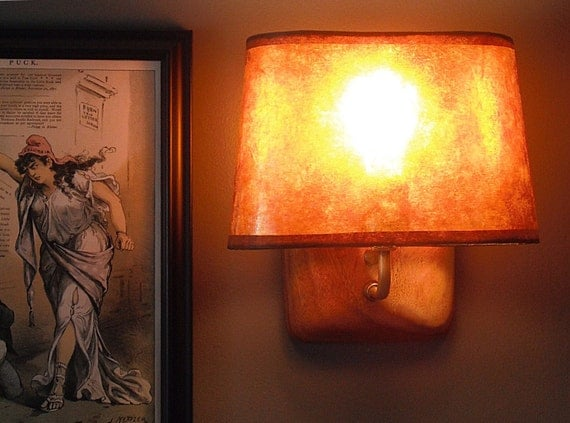 Mica Oval Lamp Shade