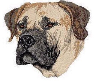 Custom Embroidered Boerboel Tshirt S-4XL
