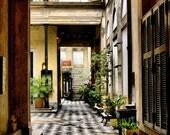 Urban Entrance in Rain - Buenos Aires San Telmo district - Fine Art Travel Photography Print - 8x12