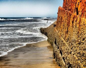 Beach Shipwreck -Fine Art Photography Print - 8x12 - Fraser Island, Australia