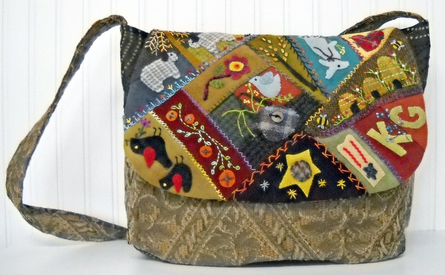 Quilting Patterns For Bags : Day Tripper Purse and Travel Bag pattern