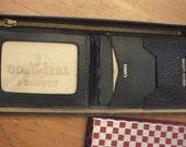 Vintage Gold Seal Leather Wallet 1942