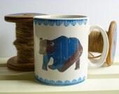 Ceramic coffee / tea mug Nordic Bear