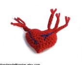 baby ZOMBIE HEART RATTLE plush toy halloween costume