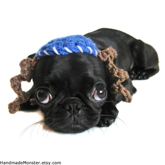 Hanukkah DOG HATS YARMULKE  kippah Chanukah mitzvah bar bat bas cat hat crochet blue white payot chanukah chanukah photography props
