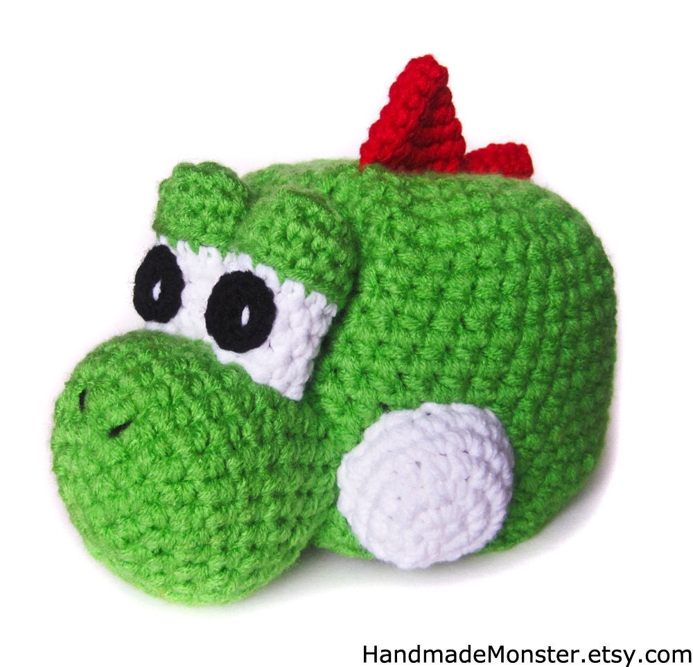 to YOSHI HALLOWEEN COSTUME mario inspired hat girl boy geekery crochet ...