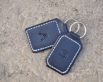 Hand-made Leather Keyring