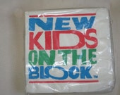RESERVED New Kids on the Block: Small Napkin Pack
