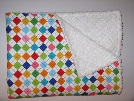 Robert Kaufman Remix Baby Blanket