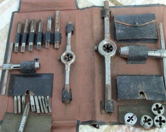 Reserved Ashley Tool Early Century Tap & Die Set Amazing Set