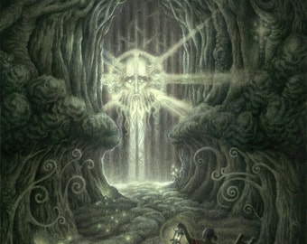 Heart of the Woods: from Book One of Astromythos - Limited Edition Print